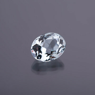 AUTÉNTICO AGUAMARINA Ovalo media 12,5x10,0mm Peso: 5,23 Ct 84)