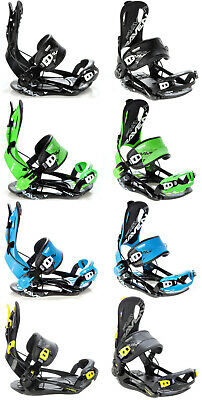 Snowboard Bindings Raven Fastec FT270 Black, Green M, L or XL  - New!!!