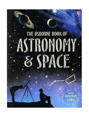 Book of Astronomy and Space (Usborne Internet-lin... by Alastair Smith Paperback