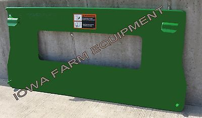 Weld On Plate For John Deere 200/300/400 Series Loaders w/Quick Attach Buckets