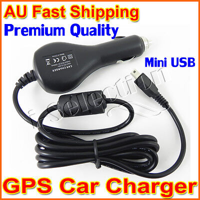 Premium In Car Charger Power Adapter Cable Navman MiVue 580 560 530 338 358 388