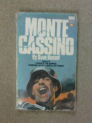 monte cassino, hassel,sven Paperback Book The Cheap Fast Free Post