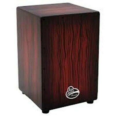 NEW - Latin Percussion Aspire Accents Cajon Dark Wood Streak - LPA1332-DWS