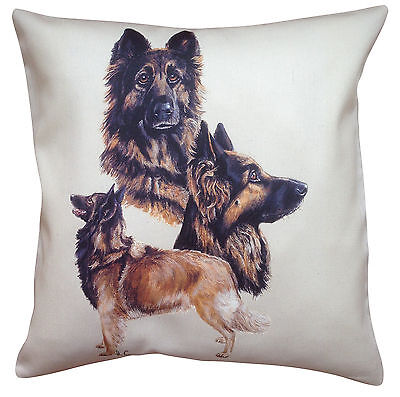 Belgian Tervuren Group Breed of Dog Cotton Cushion Cover - Perfect Gift