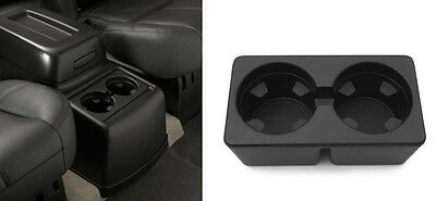 2007-2014 GMC Chevy Truck SUV Ebony Front Console Cup Holder New Free Shipping