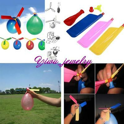 1 Pcs Funny Balloon Helicopter Flying Educational Toys Kids Boys Girls Gift YZ