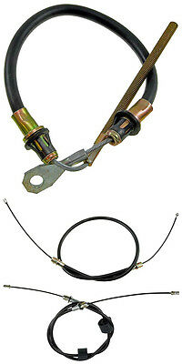 82-87 Z28 Ta Gta Emergency Disc Brake Cable Center And Lh And Rh Side Rear Set 3