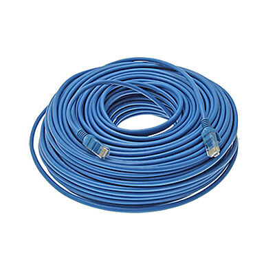 164ft 164 ft RJ45 Cat5e UTP Ethernet LAN Network Patch Cable Wire Blue 50M