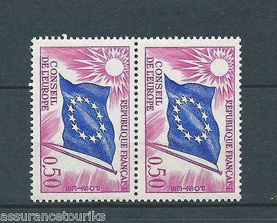 FRANCE SERVICE - 1963-71 YT 32 paire - TIMBRES NEUFS** LUXE