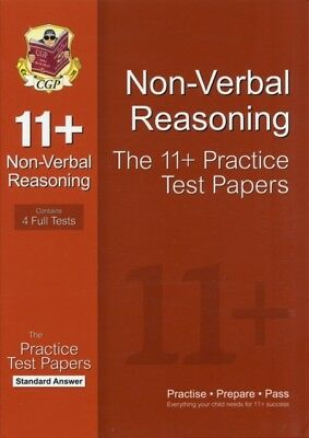 11+ Non-Verbal Reasoning Practice Test Papers: Standard Answers (. 9781847628367