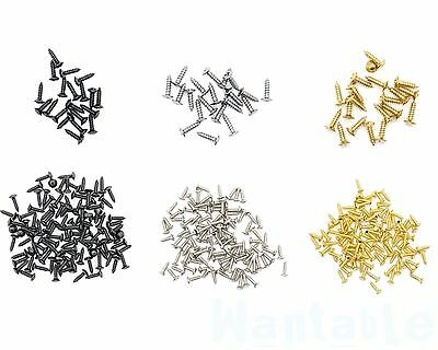 Guitar Scratchplate Screws Pickguard Cover Plate Strat Tele SG Bulk Pack Luthier