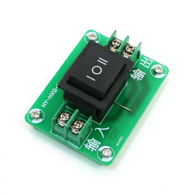 Three Position I/O/II DPDT CW/CCW Motor Rotary Direction Control Switch
