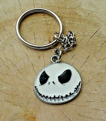 Nightmare Before Christmas Keyring Jack Skellington Keychain In Gift Bag