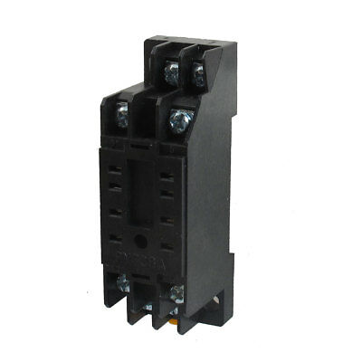 PYF08A 8 Pins 35mm Mounting Rail Screw Terminal Relay Socket Base for HH52P