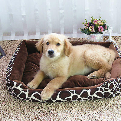 Deluxe Soft Washable Dog Cat Pets Puppy Warm Basket Bed Nest Mat Cushion 70*55cm