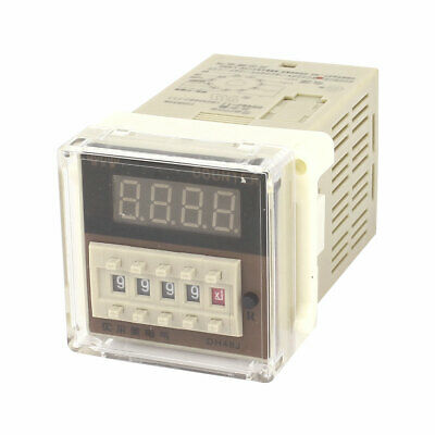 DH48J-11A AC 220V 0-999900 11-Pin Adjustable Time Delay Timer Relay
