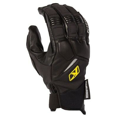 Klim Men's Inversion Pro Gore Windstopper Gloves - Black - 5035-001-1_0-000