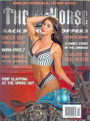 THE HORSE BACKSTREET CHOPPERS No154 Sep/Oct 2015 (NEW)  *Post included EU/USA