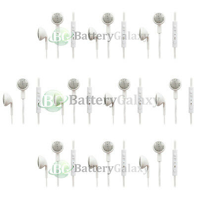10 Headphone Headset Mic Volume Earbud for iPhone 3 3GS 4 4S 5 5C 5S 6 6S Plus
