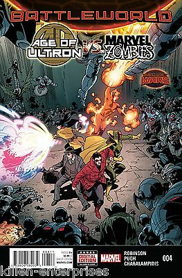 Age Of Ultron Vs Marvel Zombies #4 Comic Book 2015 - Marvel