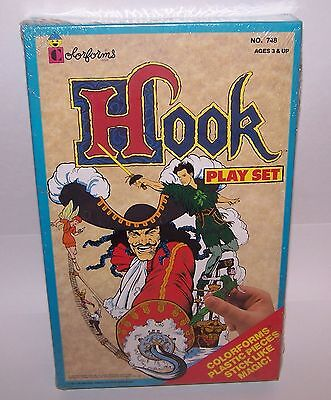 Captain Hook Pirate Colorforms Adventure Play Set Unused Vintage 1991 Sealed