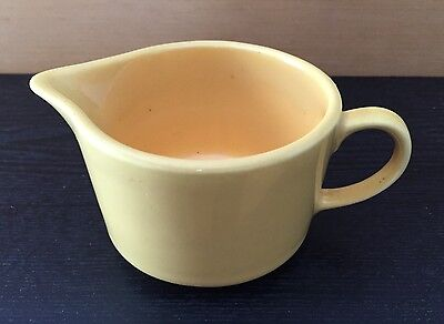 Vintage Mount Clemens Pottery MCP Creamer Yellow (1930's)
