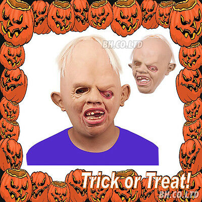Sloth Latex Mask Goonies Halloween Party Adult Cosplay Fancy Dress Costume 1980s