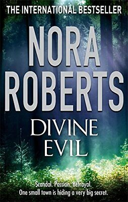 Divine Evil, Roberts, Nora Paperback Book The Cheap Fast Free Post