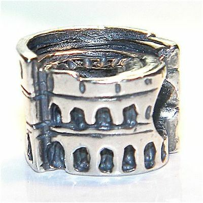 TEDORA SICILIAN CART BEAD  AUTHENTIC 925 STERLING SILVER BEADS S 398
