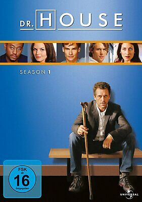 Dr. House - Die komplette Season/Staffel 1 # 6-DVD-BOX-NEU