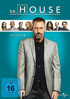 Dr. House - Die komplette Season/Staffel 6 # 6-DVD-BOX-NEU