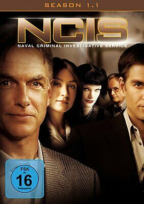 NCIS - Navy CIS - Season/Staffel 1.1 # 3-DVD-BOX-NEU