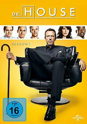 Dr. House - Die komplette Season/Staffel 7 # 6-DVD-BOX-NEU