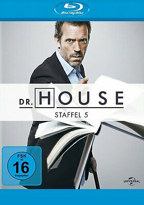 Dr. House - Season/Staffel 5 # 5-DISC-BLU-RAY-BOX-NEU