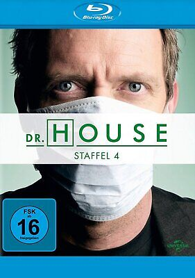 Dr. House - Season/Staffel 4 # 4-DISC-BLU-RAY-BOX-NEU