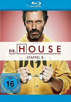 Dr. House - Season/Staffel 8 # 5-DISC-BLU-RAY-BOX-NEU