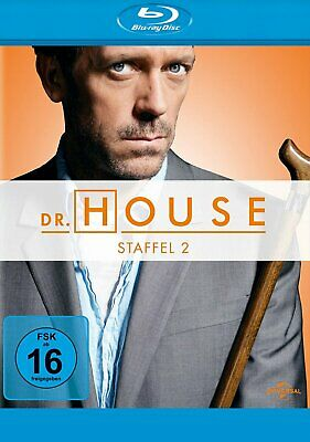 Dr. House - Season/Staffel 2 # 5-DISC-BLU-RAY-BOX-NEU