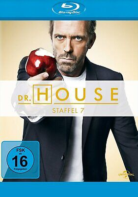 Dr. House - Season/Staffel 7 # 5-DISC-BLU-RAY-BOX-NEU