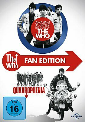 The Who - Amazing Journey:The Story of The Who + Quadrophenia - 3-DVD-BOX-NEU