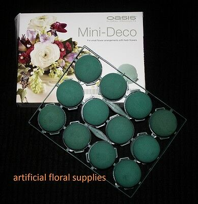 12x mini DECO oasis floral foam for use as cake toppers, bespoke design weddings