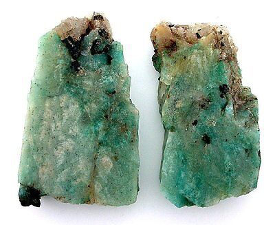 109.9 Gram 2 Colorado Amazonite Quartz Cab Cabochon Gemstone Gem Slab Rough AS1