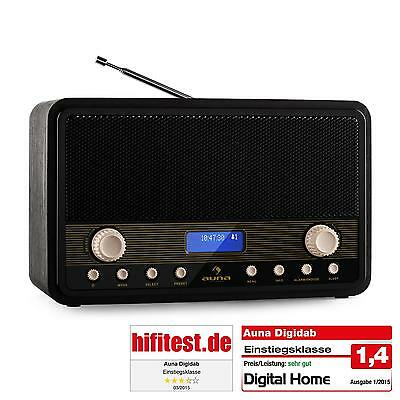 tragbares cd kofferradio retro radio usb mp3 player ukw empf nger tuner lcd uhr eur 79 99. Black Bedroom Furniture Sets. Home Design Ideas