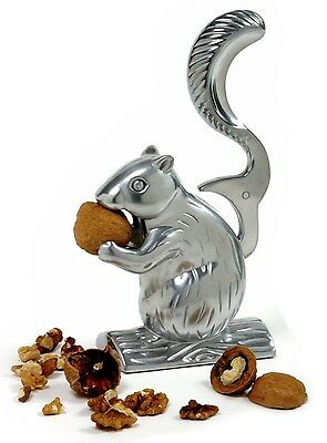 Norpro 6529 Davy Crackit Squirrel Nutcracker Crack Almonds Pecans Walnuts