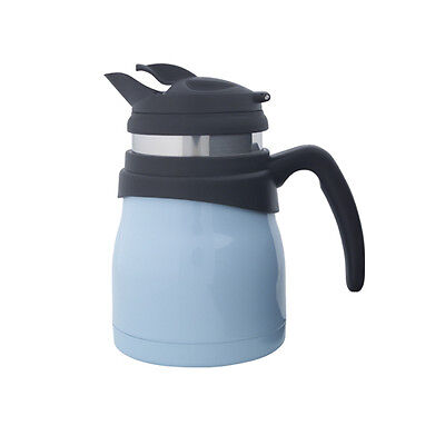 Timolino 20-Ounce Travette Coffee Tea Brew Pot With Infuser Pastel Blue