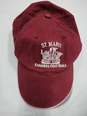 #ff1.  St Marys Band Club Rangers Football   Cap