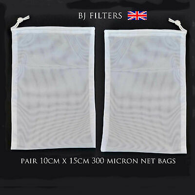 2 X Ideal Straining Nut Milk-Etc Fine Mesh Filter Net Bag £3.99-201 Sold Top Buy