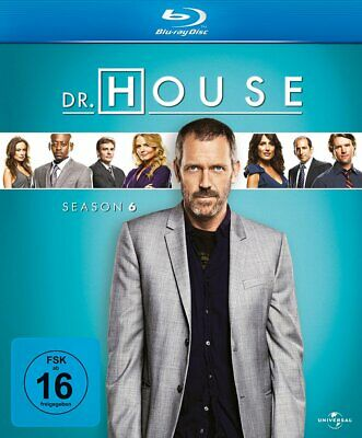 Dr. House - Season/Staffel 6 # 6-BLU-RAY-BOX-NEU