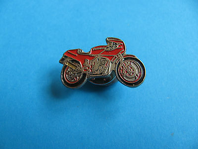 KAWASAKI Motorcycle Pin badge. Red
