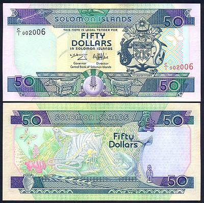 SOLOMON ISLANDS 50 Dollars 1996 UNC P 22