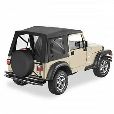 Jeep Wrangler TJ Softtop Supertop Verdeck Black Denim Bestop 96-06